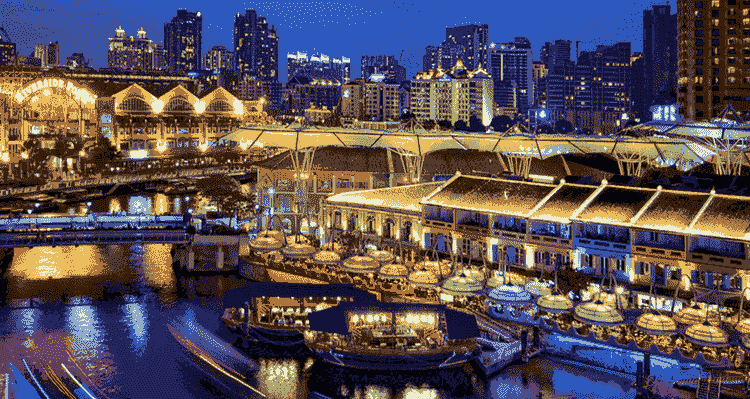 Clarke Quay & Riverside Nightlife