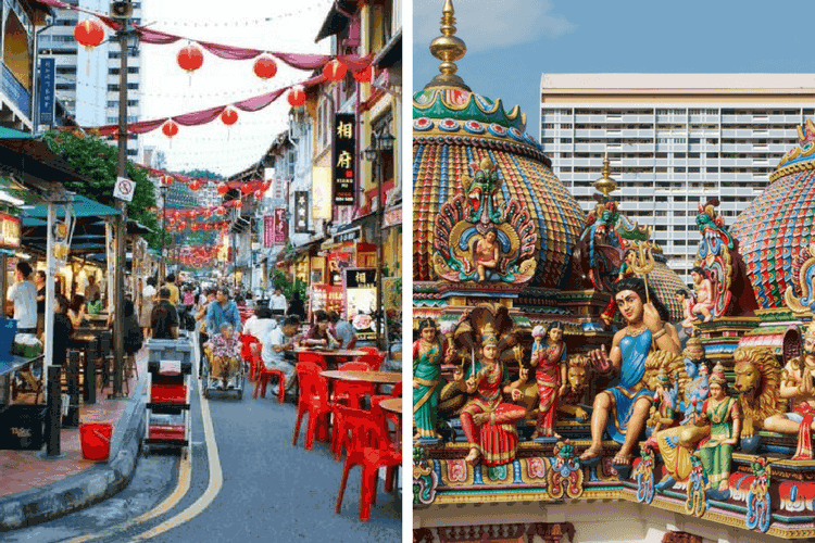 China Town & Little India, Singapore