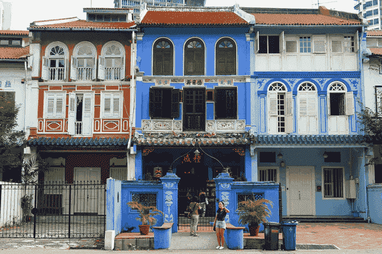 Baba House, China Town Singapore
