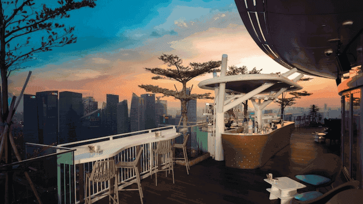Flight Bar & Lounge, Singapore