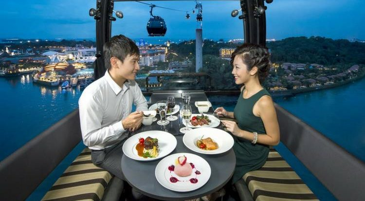 Dining experiences in Singapore
