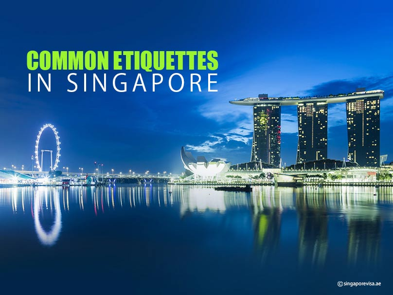 Common Etiquettes in Singapore