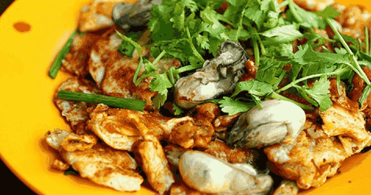 Oyester Omelette