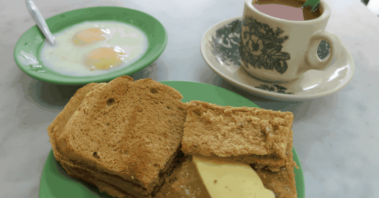 Soft-boiled Eggs with Kaya Toast