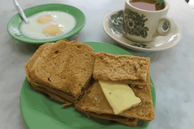 Kopi and Kaya Toast, Singapore
