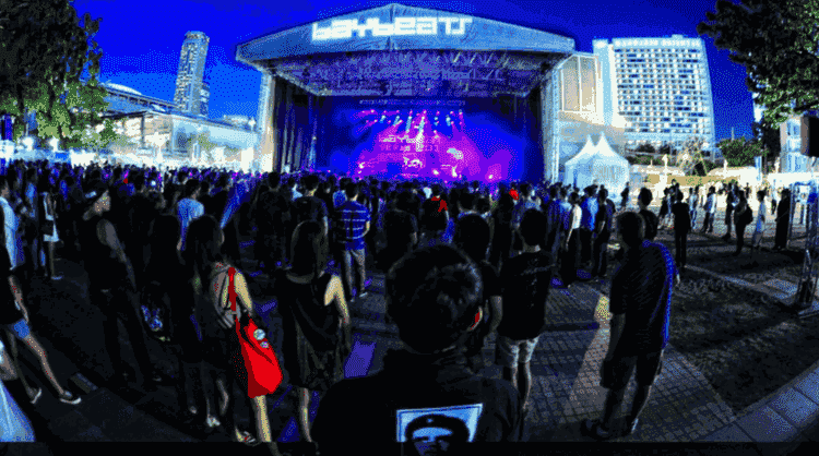 Baybeats in Singapore