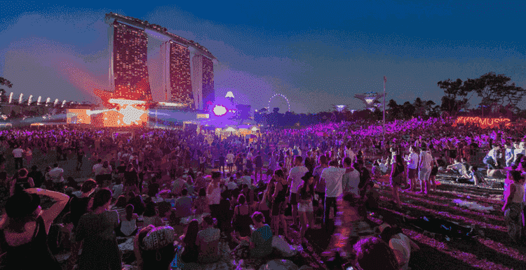 St. Jerome's Laneway Festival in Singapore