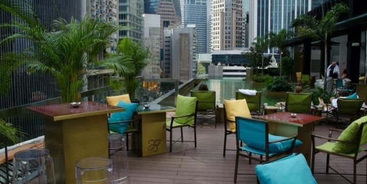 Hi-So Rooftop Pool Bar