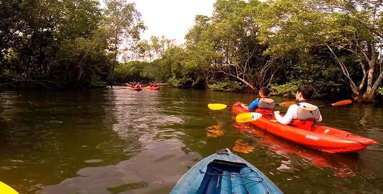 Kayaking at Khatib Bongsu
