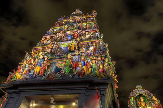 Sri Srinivasa Perumal Temple in Singapore