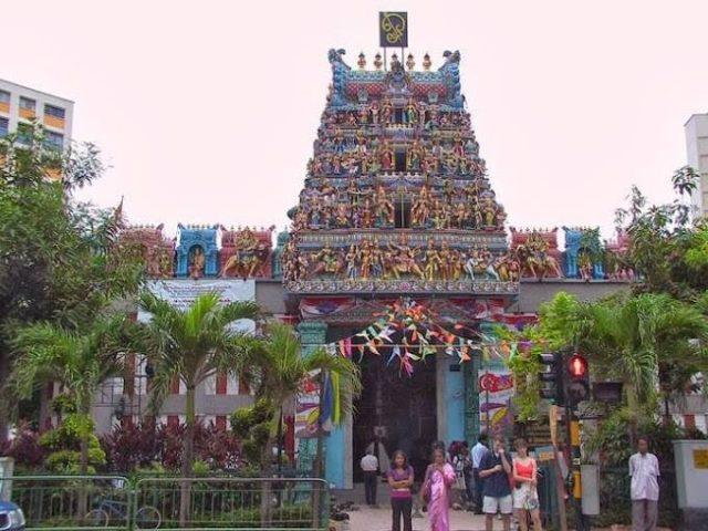 Sri Veeramakaliamman Temple in Singapore