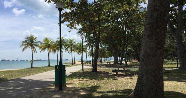 East Coast Park in Singapore