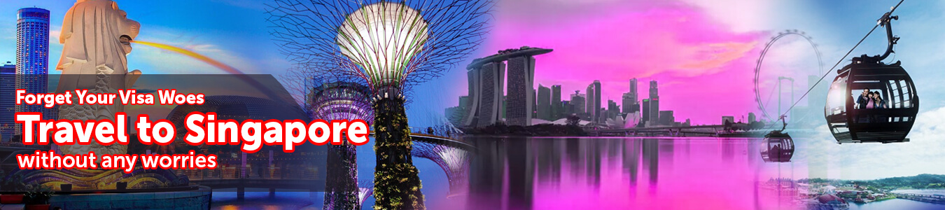 Singapore Visa - Get Online Singapore Tourist, Visit, Business Visas