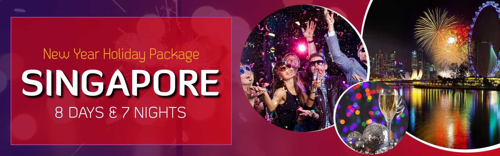 Singapore New Year Banner